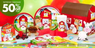 Farmhouse Fun Birthday Party Supplies Party City Canada