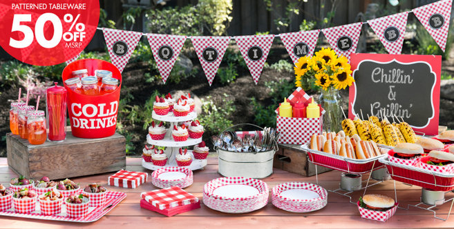 Picnic Party Theme Picnic Themed Party Supplies Party City
