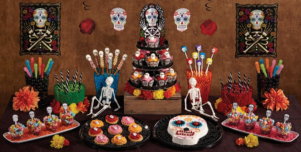 Day of the Dead Cake & Cupcake Supplies - Party City Canada