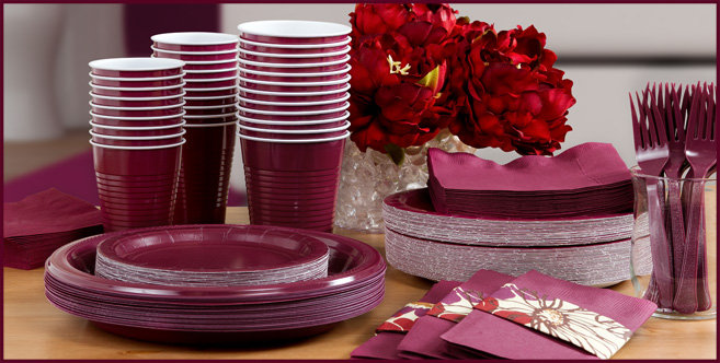 Solid Berry Tableware #3