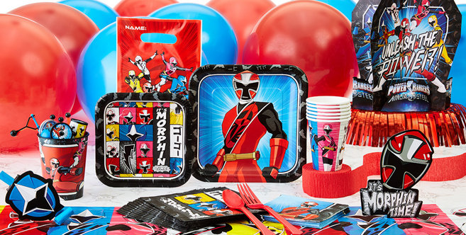 Power Rangers Party Supplies Power Rangers Birthday