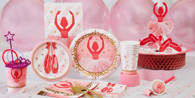 Ballerina party supplies ballerina birthday party for Ballerina party decoration