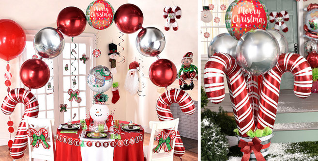 Christmas Balloons - Christmas Balloon Bouquets and ...