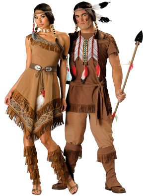 Elite Native American Couples Costumes