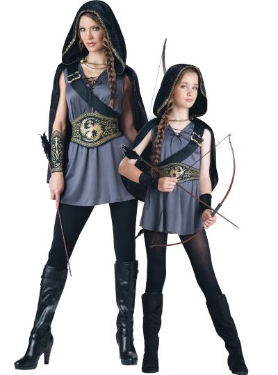 Hooded Huntress Mommy and Me Costumes