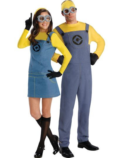 Minion Couples Costumes - Despicable Me