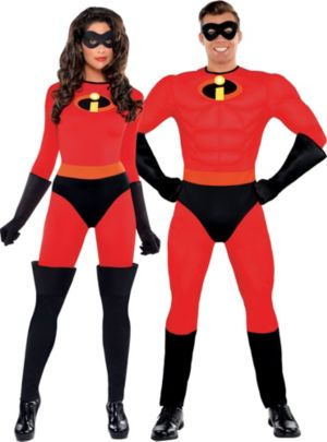 The Incredibles Couples Costumes