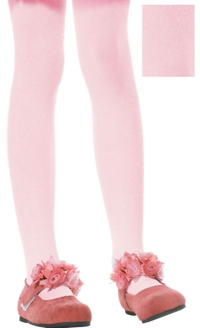 Child Pink Seamless Tights