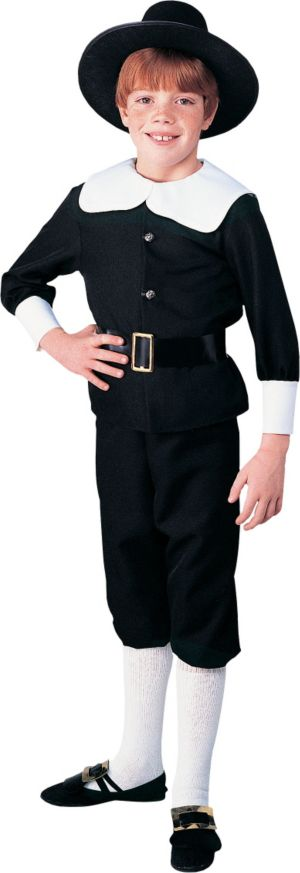 Boys Pilgrim Costume Deluxe