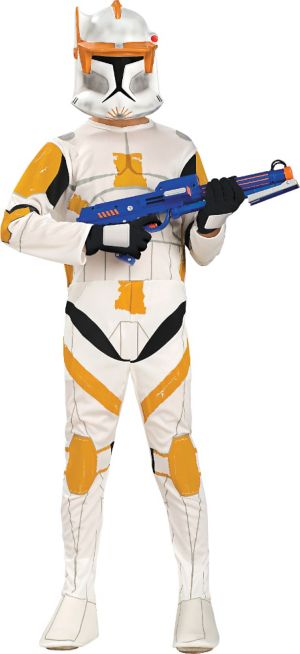 Boys Commander Cody Costume - Star Wars Clone Wars