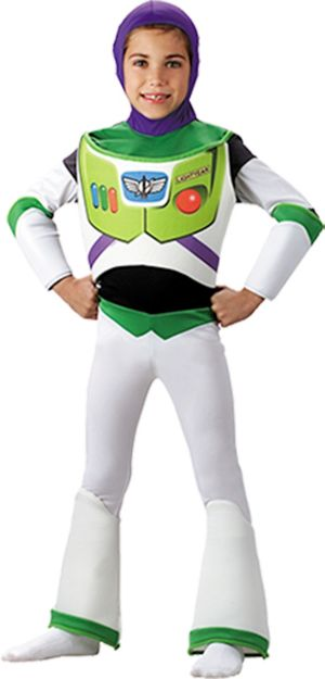 Boys Buzz Lightyear Costume Deluxe - Toy Story