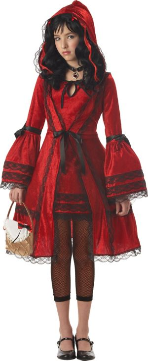 Girls Strangelings Red Riding Hood Costume