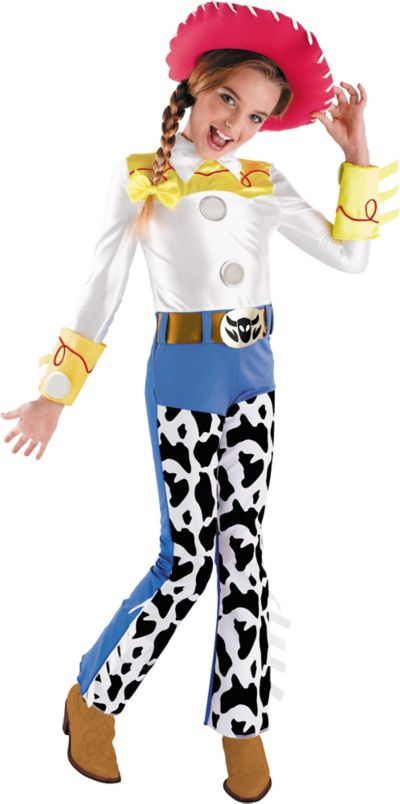 Girls Jessie Costume Deluxe - Toy Story