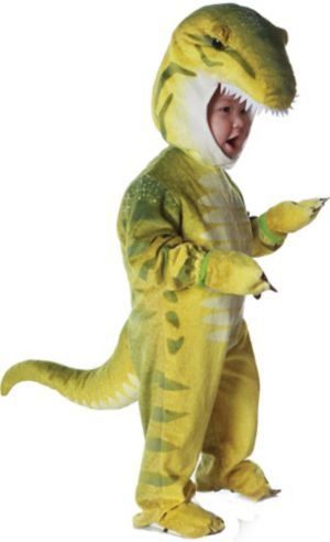 Toddler Boys Green T-Rex Costume