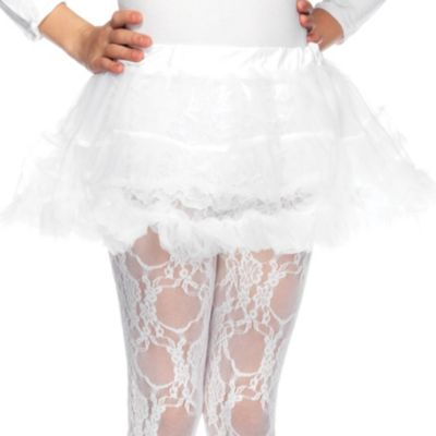Girls White Petticoat