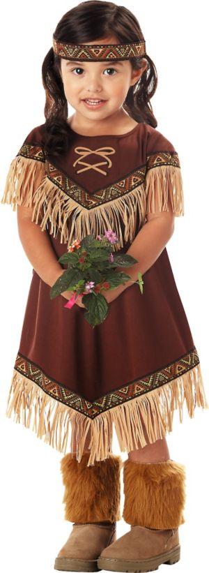Toddler Girls Lil' Princess Native American Costume
