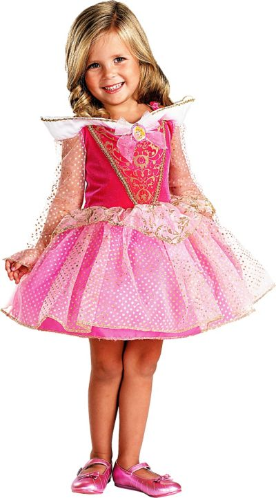Toddler Girls Classic Aurora Ballerina Costume