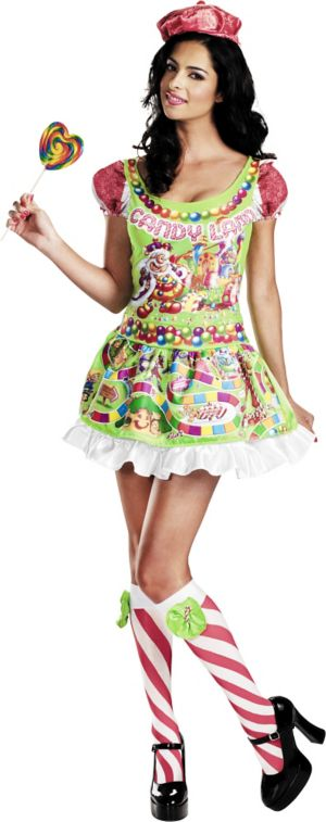 Adult Sassy Queen of Candyland Costume Deluxe