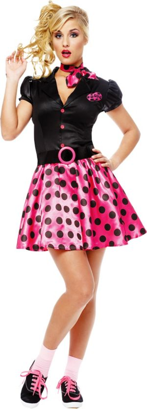 Adult Sock Hop 50's Costume