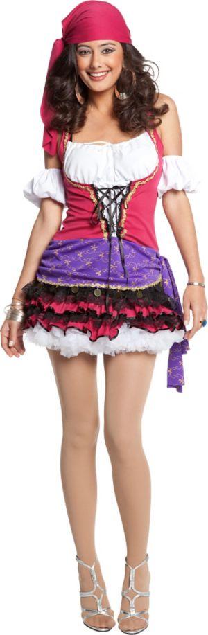 Adult Crystal Ball Gypsy Costume