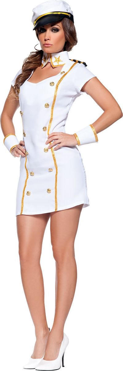 Adult Sexy Admiral Costume