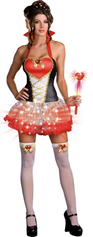 Adult Queen of Heartbreak Light-Up Costume