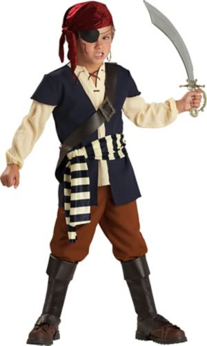 Boys Pirate Mate Costume
