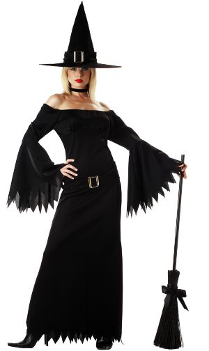 Adult Elegant Witch Costume