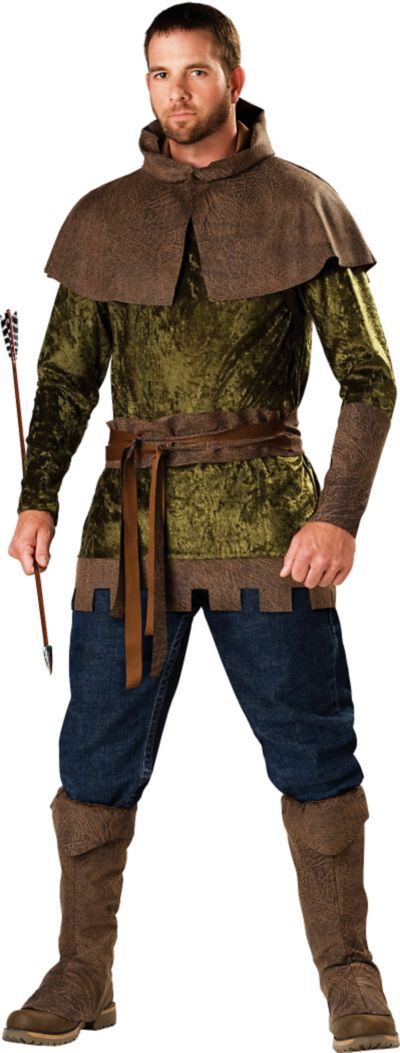 Adult Edgy Robin Hood Costume