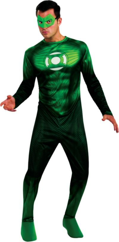 Adult Hal Jordan Costume - Green Lantern