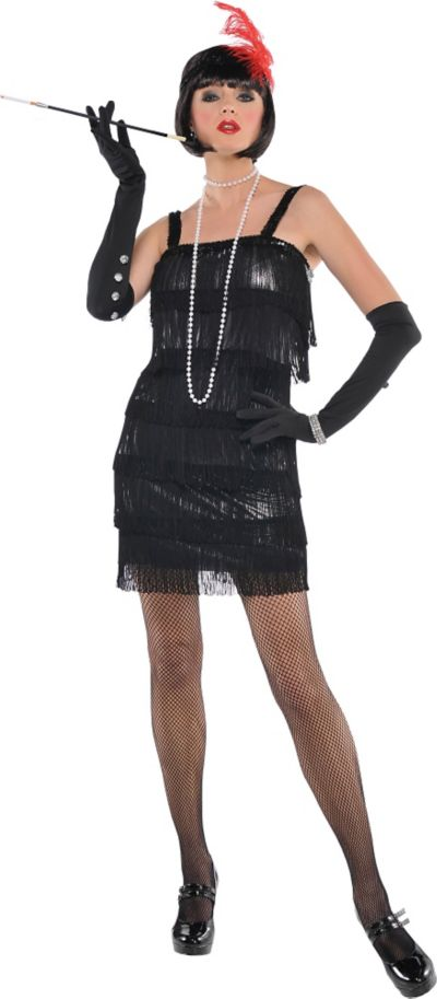 Adult Flashy Flapper Costume