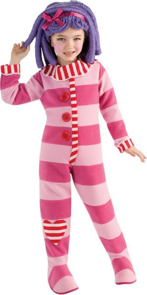 Girls Pillow Featherbed Costume Deluxe - Lalaloopsy