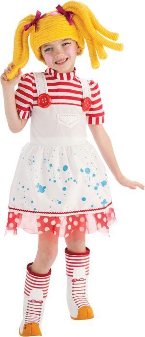 Girls Spot Splatter Splash Costume Deluxe - Lalaloopsy