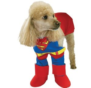 Classic Superman Dog Costume