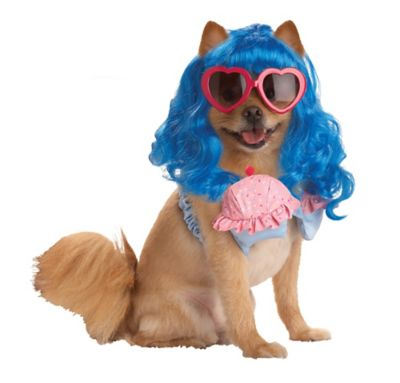 Pup-A-Razzi Cupcake Girl Dog Costume