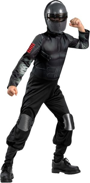 Boys Classic Snake Eyes Costume