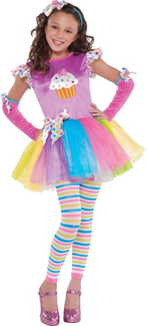 Girls Cupcake Cutie Costume