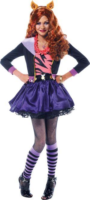 Clawdeen Wolf Halloween Costume
