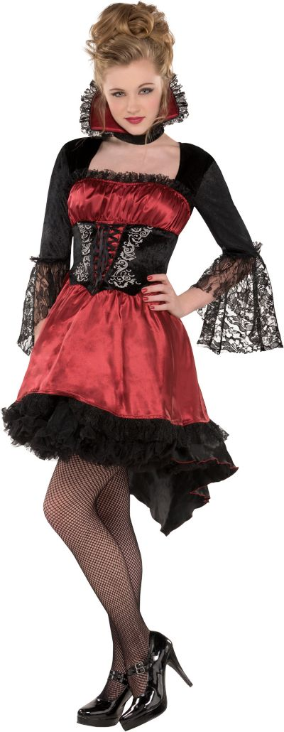 Teen Girls Va-Va-Vampire Costume