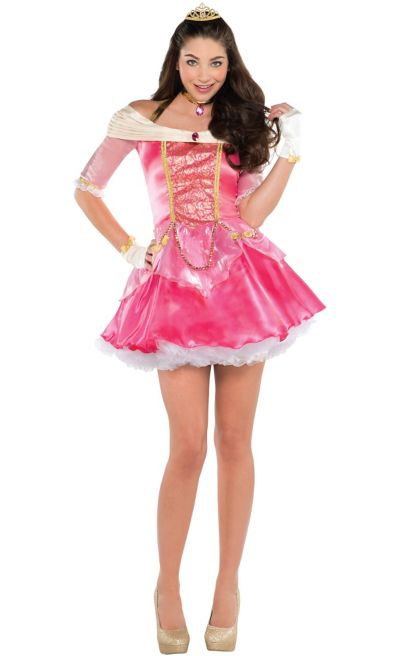 Adult Aurora Sleeping Beauty Costume
