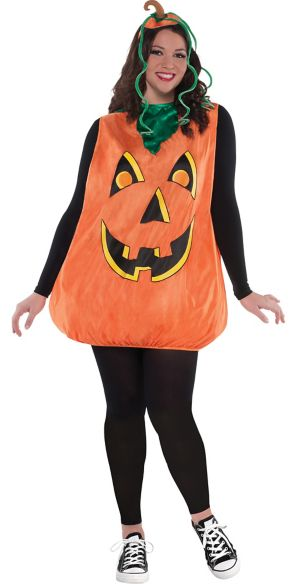 Adult Pretty Pumpkin Costume Plus Size