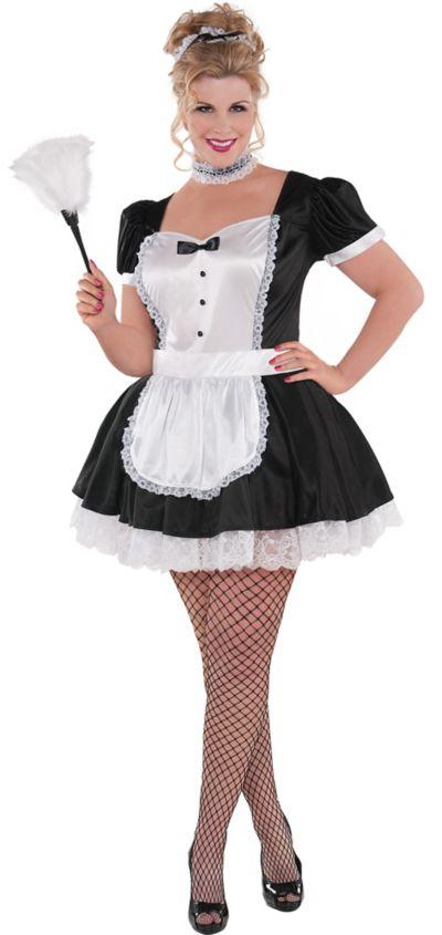 Adult Sassy Maid Costume Plus Size