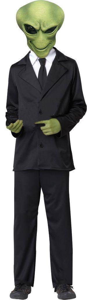 Boys Alien Agent Costume