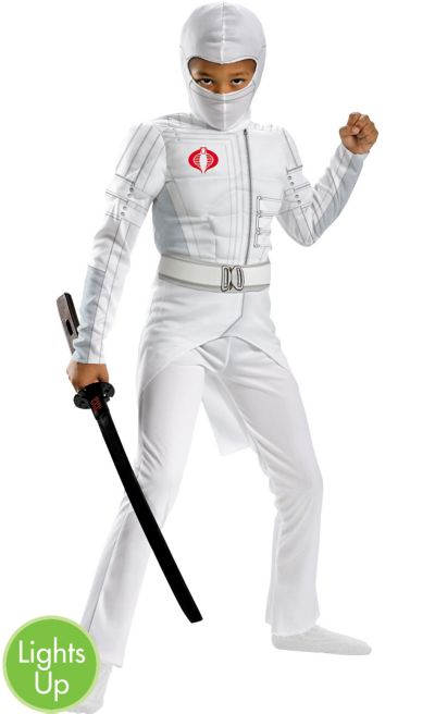 Boys Light-Up Storm Shadow Muscle Costume - G.I. Joe