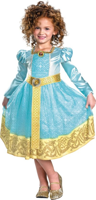 Girls Merida Costume Deluxe