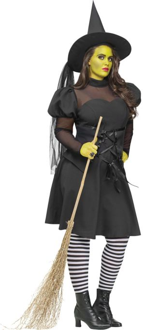 Adult West Witch Costume Plus Size