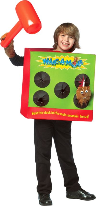 Child Whac-a-Mole Game Costume