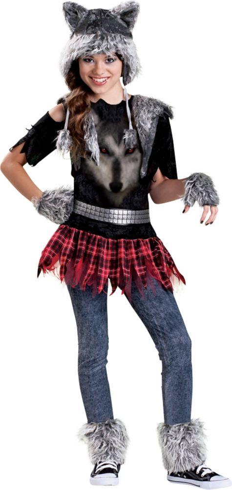 Costume Dream Girl Girls Werewolf Costume