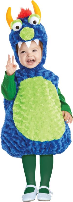 Baby Blue Monster Costume