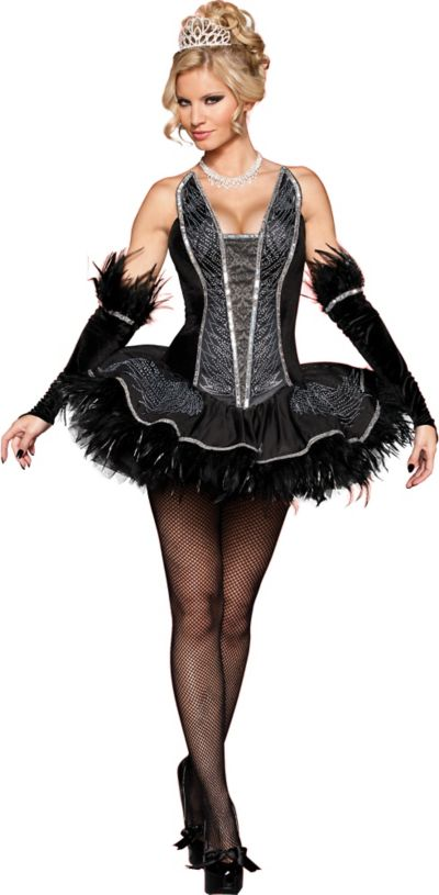 Adult Seductive Swan Costume